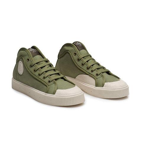 SANJO K100 GREEN-OFF WHITE