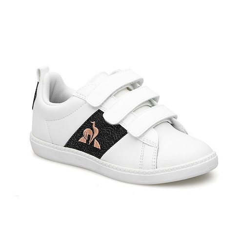 LE COQ SPORTIF COURTCLASSIC PS GIRL OPTICAL WHITE/BLACK
