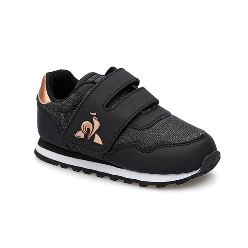 LE COQ SPORTIF ASTRA INF GIRL BLACK/ROSE GOLD