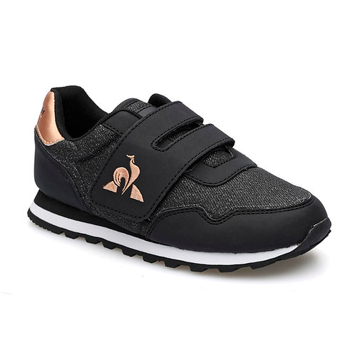 LE COQ SPORTIF ASTRA PS GIRL BLACK/ROSE GOLD