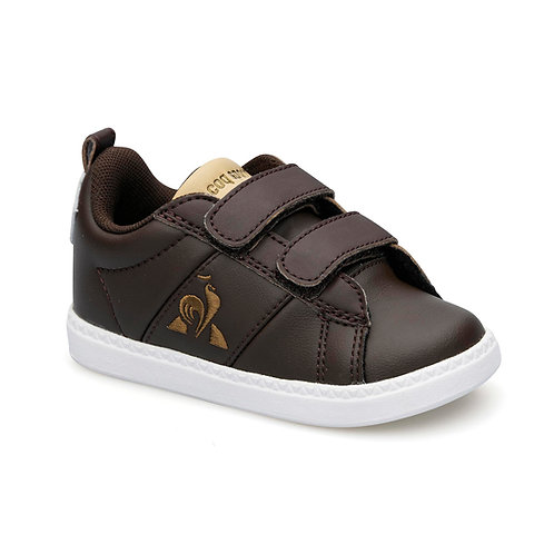 LE COQ SPORTIF COURTCLASSIC INF CHOCOLATE BROWN/CROISSANT
