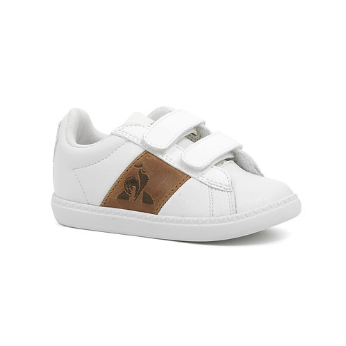 COURTCLASSIC INF optical white/brown
