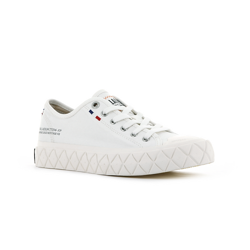 PALLADIUM PALLA ACE CVS STAR WHITE