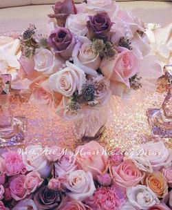 With All My Heart Wedding Decor