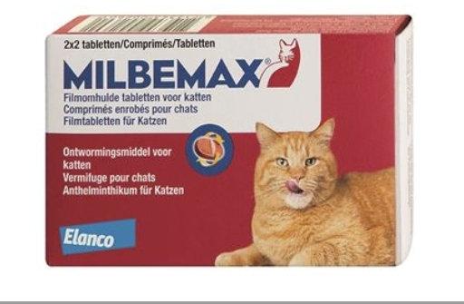 Milbemax kat/kitten (ontworming)