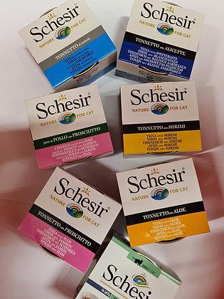 Schesir blikvoeding kat 85 gram