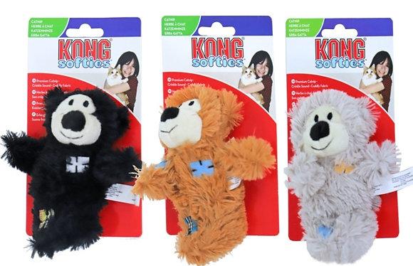 Kong kattenspeelgoed Softies