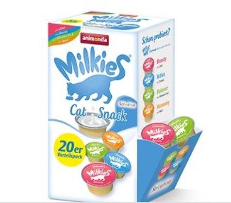 Milkies katten melk 20 cupjes