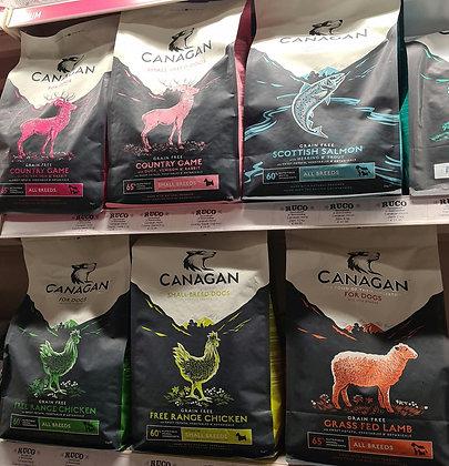 Canagan hondenvoer Vanaf: 2 kg
