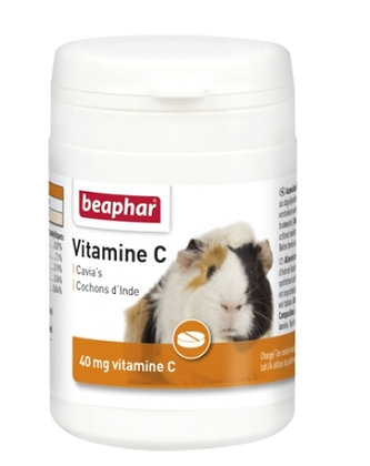 Beaphar vitamine C voor Cavia's