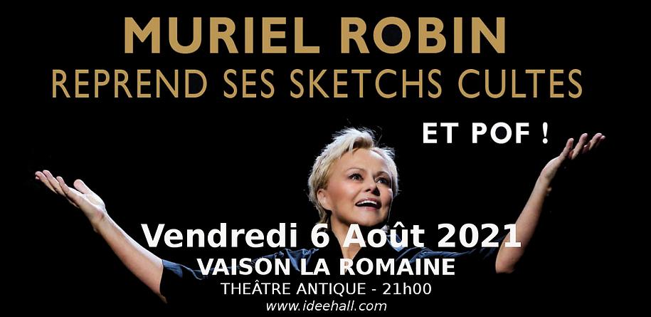 Muriel ROBIN Vaison la Romaine 2021.png
