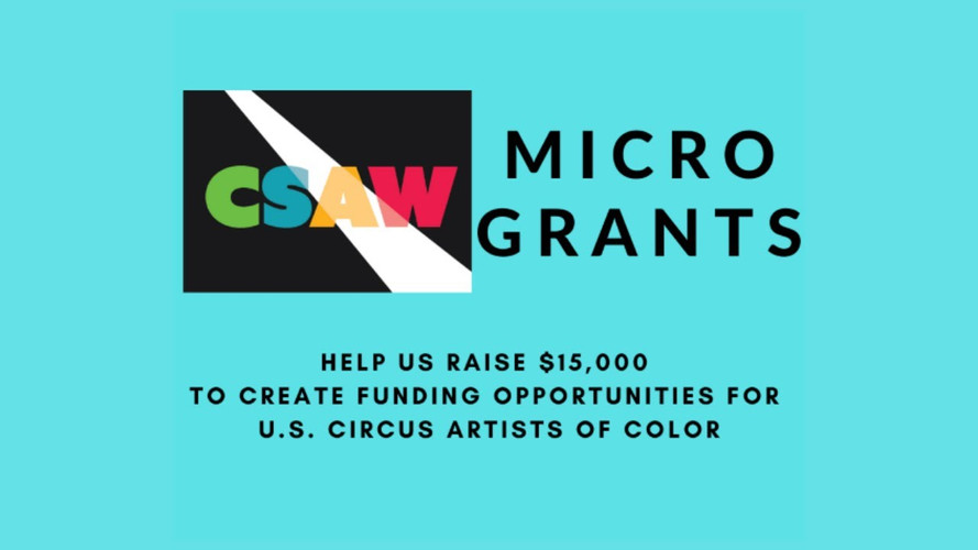 CSAW Microgrants for US Circus Artists of Color
