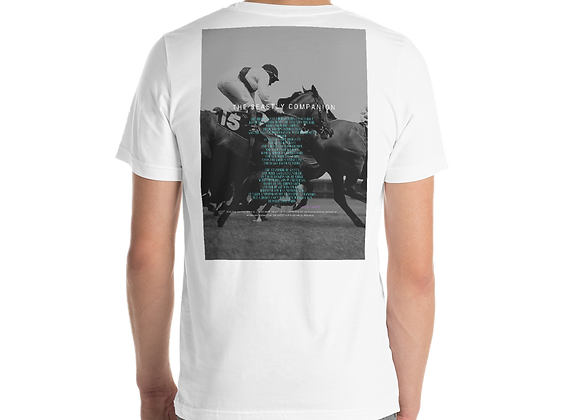 """Beastly Companion"" Short Sleeve Unisex T-Shirt"