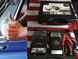 Gewinnspiel auf Facebook!! Werde Fan und gewinne einen Jump Starter