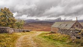Storm clouds over Lochnagar