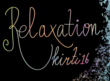 Body relaxation for the week