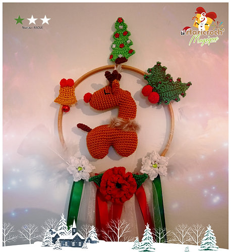 Tutoriel au crochet, amigurumi : Rêve de Noël