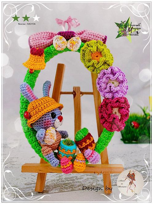 Tutoriel au crochet, amigurumi : La petite couronne de Pâques