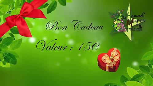 Bon Cadeau Valeur 15€