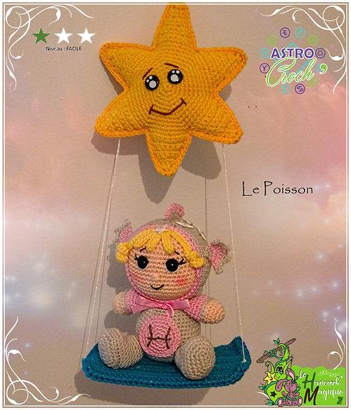 Tutoriel au crochet, amigurumi : L'Astro Croch Poisson