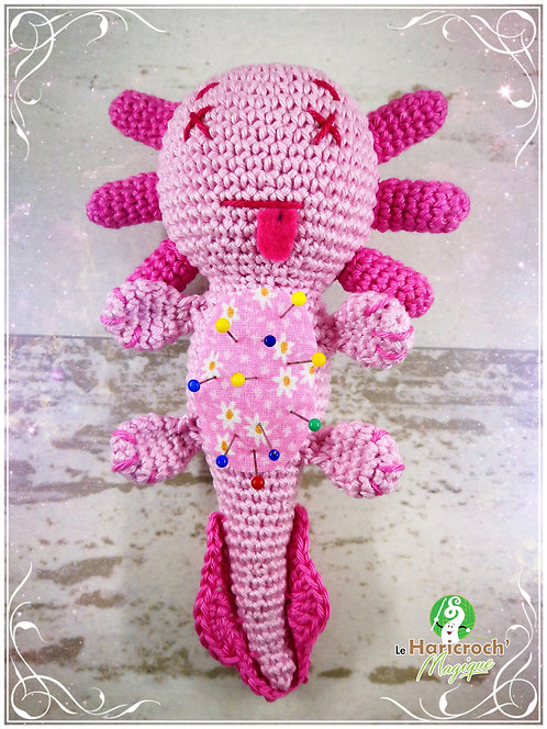 Tutoriel au crochet, amigurumi : Xana la pique épingle