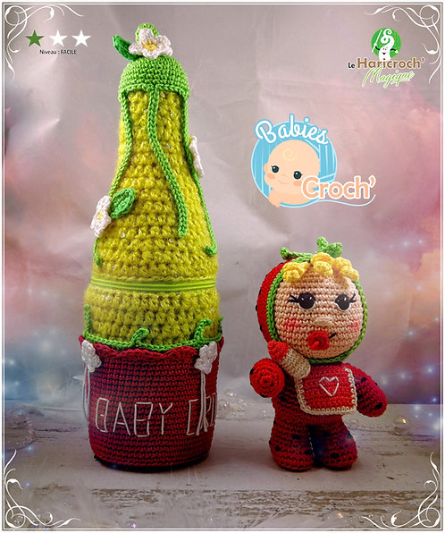 Tutoriel au crochet : Les Babies Croch', Baby Strawberry