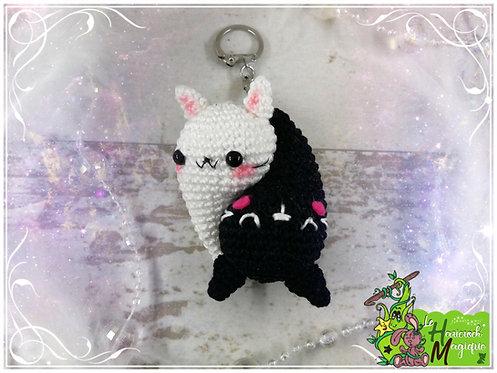 Tutoriel au crochet, amigurumi : le yin et yang Minou