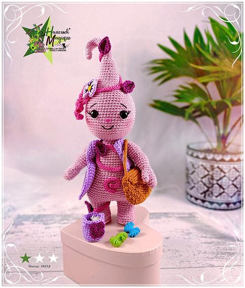 Tutoriel au crochet, amigurumi : La Haricroch'ette ( tuto additionnel)