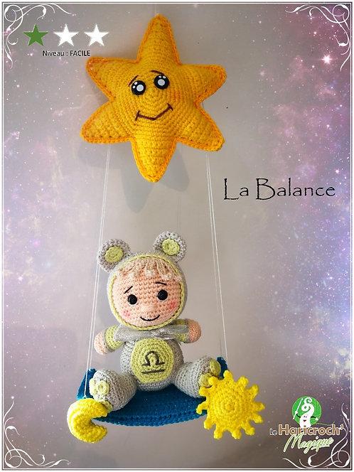 Tutoriel au crochet, amigurumi : Astro Croch' la Balance