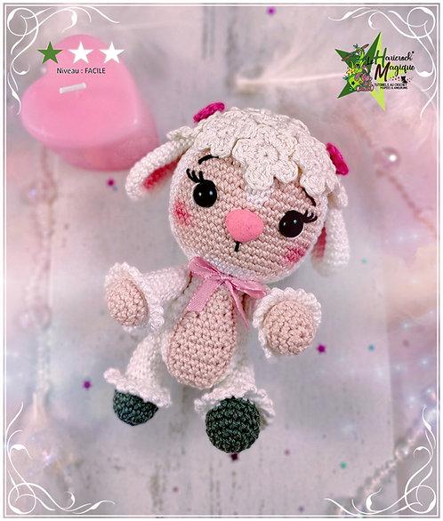 Tutoriel au crochet, amigurumi : Bouclette le mouton