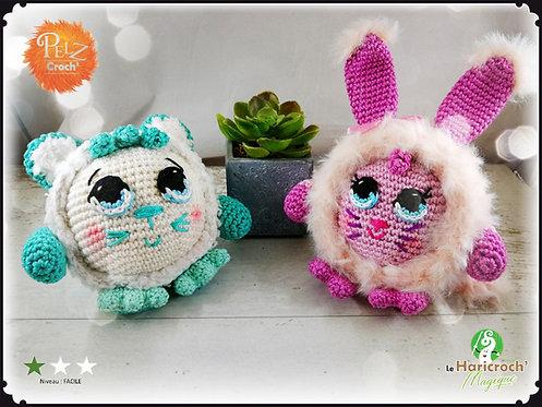Duo Pack tutoriels : Pelz Croch' Pumpy et Grumpy