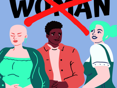 Should the word 'woman' be dropped from reproductive healthcare?