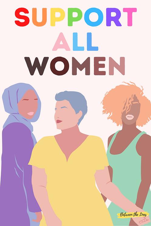 SUPPORT ALL WOMEN