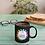 Thumbnail: 11oz. Sublimation Glossy Black Magic Color Changing Ceramic Coffee Mug