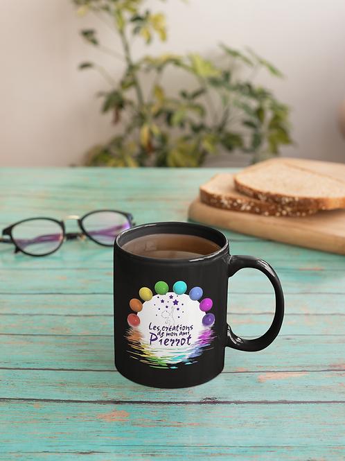 11oz. Sublimation Glossy Black Magic Color Changing Ceramic Coffee Mug