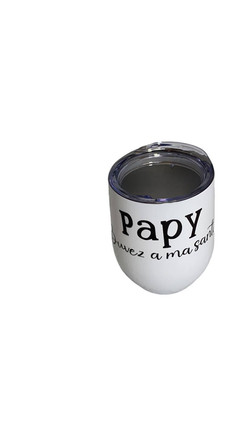 verre a vin papy