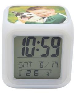 horloge numérique 7