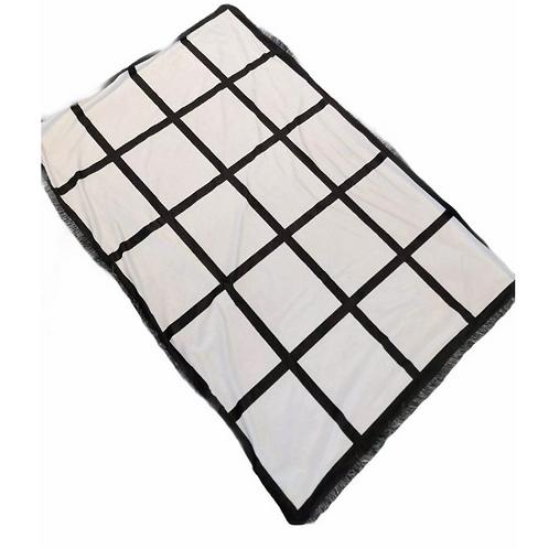 Couverture 20 panneaux Sublimation Blank 20 Panel Sublimation Blanket