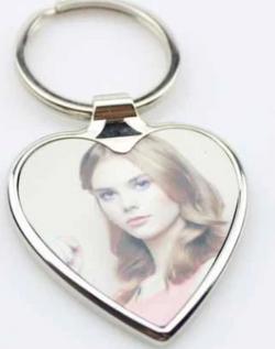 porte clée en coeur 1