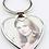 Thumbnail: Porte-clés coeur pour sublimation / Heart sublimation key ring