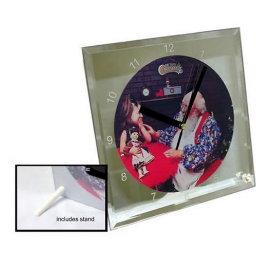 Horloge contour miroire /  Contour mirror clock