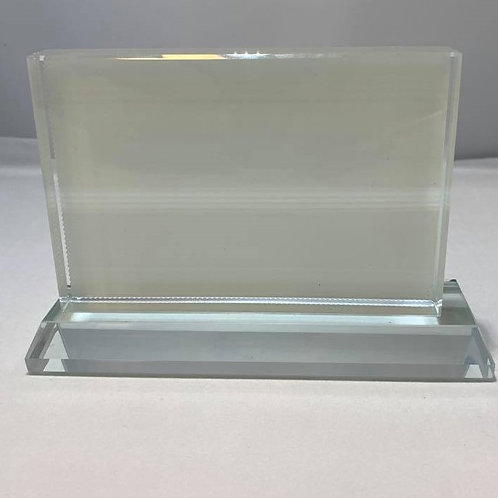 Cadre en verre Rectangle / Rectangle Glass frame