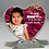 Thumbnail: Cadre en verre Coeur / Glass Heart frame