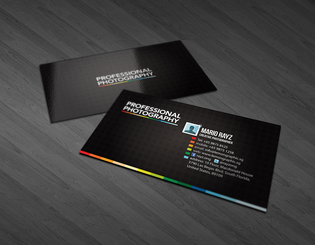 Standard Gloss Business Cards