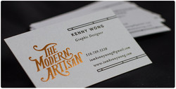 grey-business-cards-foil-printing