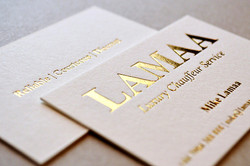 100% Cotton Business Cards