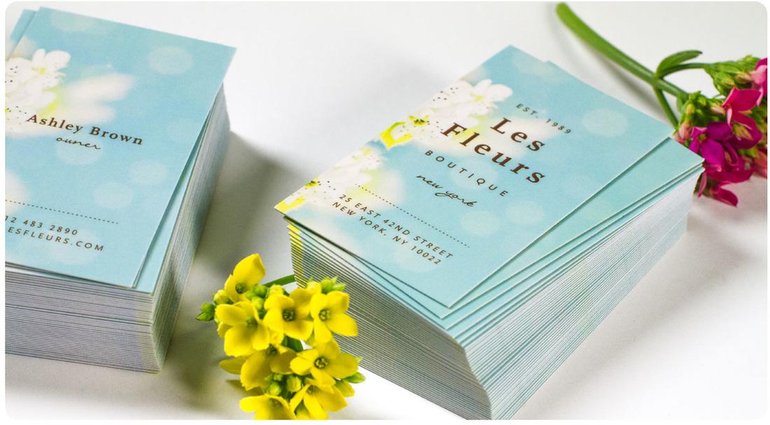 Luxury Silk Matte Business Cards