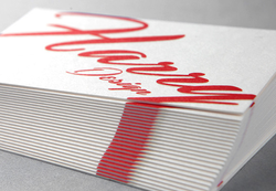 Signature 34 Uncoated Business Cards