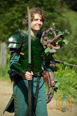 Armure et brassards elfiques