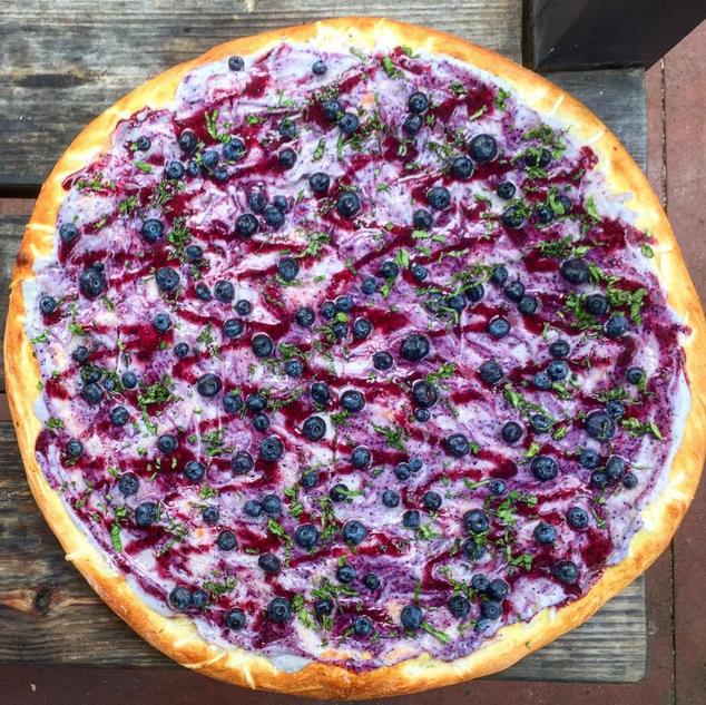 C'est une pizza